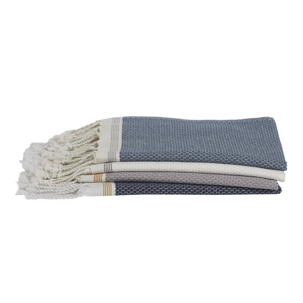 Mediterranean 100% Cotton Hand Towel by Coyuchi